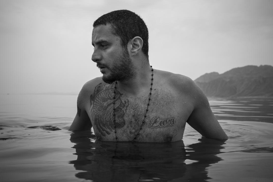 Ahmed Alfishawy in Dahab, Sinai