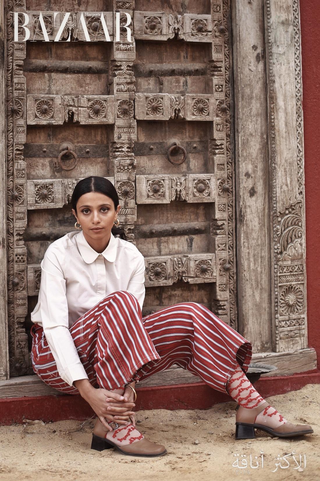 Nadia Gohar for Harper's Bazaar Arabia